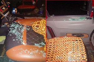 Hàng loạt xe đầu kéo bị bắn vỡ kính qua Phú Thọ, tài xế đội mũ bảo hiểm đề phòng vỡ đầu