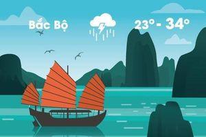 Thời tiết ngày 21/5: Miền Bắc giảm nhiệt, mưa to gió lớn diện rộng
