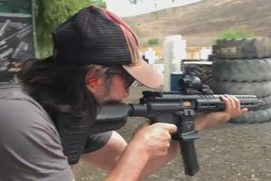 Tài tử John Wick bắn súng thật như sát thủ chuyên nghiệp