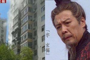 Nhà diễn viên gạo cội đóng vai 'Lưu Bị' bị cháy do chập điện