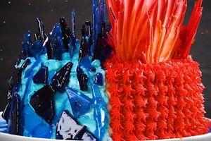 Làm bánh chủ đề băng và lửa theo phong cách 'Game Of Thrones'