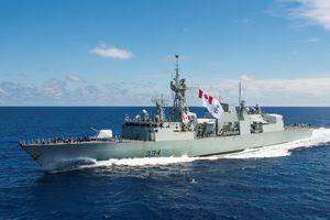 Tàu hải quân Canada sắp có chuyến thăm đầu tiên tại Việt Nam