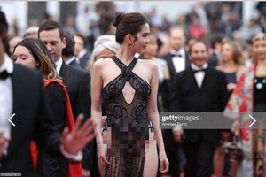 Bộ Văn hóa lên tiếng về việc người mẫu Ngọc Trinh mặc phản cảm ở LHP Cannes