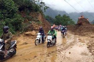 Hòa Bình: Cảnh báo lũ quét, sạt lở đất do ảnh hưởng của rãnh áp thấp