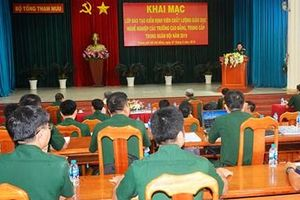 Khai mạc lớp đào tạo kiểm định viên chất lượng giáo dục nghề nghiệp