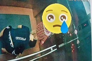 Phẫn nộ kẻ biến thái nhìn váy bé gái trong thang máy ở Quy Nhơn