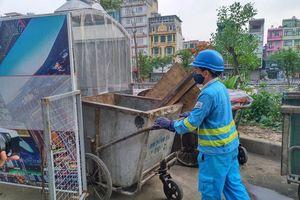 Hà Nội lắp đặt thí điểm 'nhà ở di động' cho xe đẩy rác