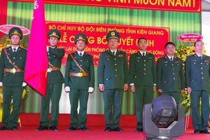 Công bố quyết định thành lập Ban Chỉ huy Biên phòng cửa khẩu cảng Dương Đông