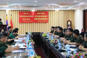 Khai mạc lớp tập huấn cán bộ quản lý biên giới cấp tỉnh cho Quân đội nhân dân Lào