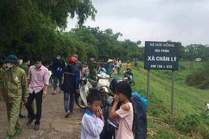 Hà Nam: Phát hiện thi thể bên vệ đê, nghi là lái xe ôm đã mất tích 6 ngày
