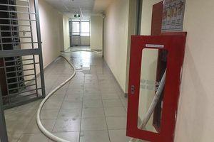 Chung cư cao cấp chằng chịt vòi cứu hỏa để 'giải khát' nước sạch