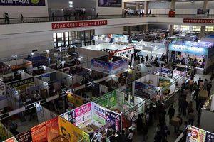 Bất chấp cấm vận, hội chợ Triều Tiên nhộn nhịp doanh nghiệp nước ngoài