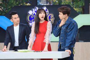 Hari Won ngạc nhiên khi Cris Phan ra mắt bạn gái tại gameshow