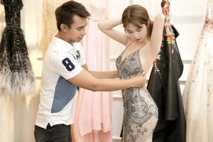 NTK nói gì về bộ trang phục bị chê là gợi dục của Ngọc Trinh?
