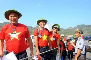 Hành trình 'Tuổi trẻ vì biển đảo quê hương' năm 2019