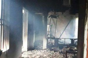 Thanh Hóa: Sét đánh trúng ngôi nhà người dân