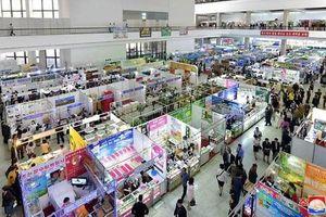 Mặc cấm vận, hàng trăm công ty nước ngoài vẫn tới Triều Tiên triển lãm