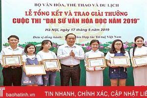 Học sinh Hà Tĩnh giành 3 giải cao tại Cuộc thi Đại sứ Văn hóa đọc