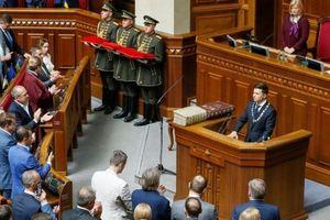 Ông Zelenskiy tuyên thệ nhậm chức Tổng thống Ukraine