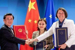 Trung Quốc và EU ký hai thỏa thuận hàng không quan trọng
