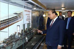 Thủ tướng Nguyễn Xuân Phúc thăm Chiến hạm Rạng Đông (LB Nga)