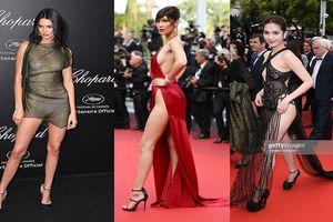 Không chỉ Ngọc Trinh, nhiều mỹ nhân từng 'mặc như không' đến LHP Cannes