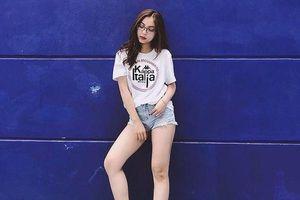 Bạn gái Quang Hải bị chê khi mặc quần ngắn