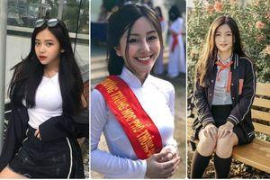 Dàn hot girl đình đám chuẩn bị bước vào kỳ thi THPT quốc gia