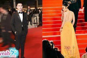Sau khi Ngọc Trinh 'tạo sóng', Võ Cảnh và một người đẹp khác cũng có màn xuất hiện trên thảm đỏ Cannes 2019