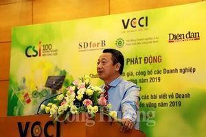 Phát động Chương trình báo chí viết về doanh nghiệp phát triển bền vững