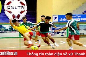 11 đội bóng tranh tài tại giải bóng đá futsal các câu lạc bộ TP Sầm Sơn - Cúp Delta 2019