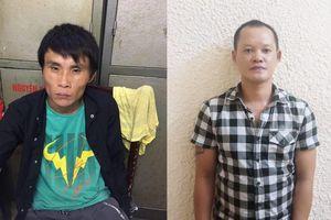 Bắt nhóm cướp chuyên 'hành nghề' trước cửa các ngân hàng ở Hà Nội