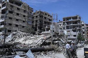 Mỹ nghi Syria tấn công bằng vũ khí hóa học ở vùng chiến sự