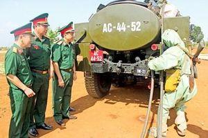 Binh chủng Hóa học kiểm tra công tác huấn luyện, sẵn sàng chiến đấu tại Quân đoàn 3
