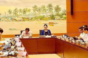 Chủ tịch Quốc hội Nguyễn Thị Kim Ngân: Nông nghiệp năm nay sẽ rất khó khăn vì dịch bệnh