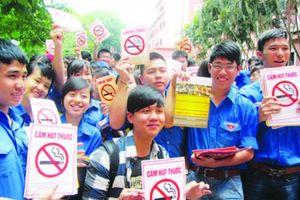 Thực thi phòng chống thuốc lá trong trường học