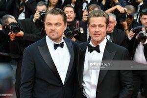 Brad Pitt, Leonardo DiCaprio mặc 'đồ đôi' lịch lãm trên thảm đỏ Cannes