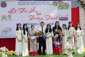 Lạng Sơn: Lễ tri ân, trưởng thành của HS dân tộc nội trú