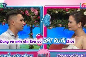 Chàng trai bị 'ném đá' vì tính toán từng bát phở với bạn gái trên sóng truyền hình