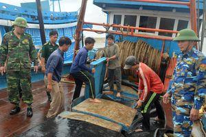 Bắt 2 tàu cá khai thác hải sản trái phép