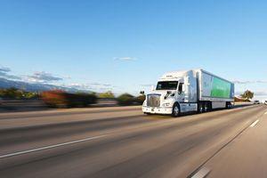 Xe tải tự lái lần đầu đi chở thư ở Mỹ