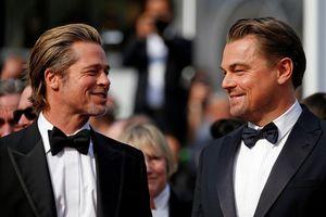 Leonardo Dicaprio bảnh bao sánh vai cùng Brad Pitt trên thảm đỏ Cannes