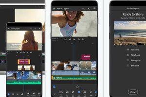 Adobe mang Premiere Rush lên nền tảng Android