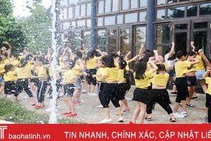 Trẻ em thành phố Hà Tĩnh chơi gì khi nghỉ hè?