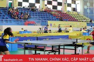 Giải Bóng bàn Báo Hà Tĩnh mở rộng khởi tranh đầu tháng 6/2019