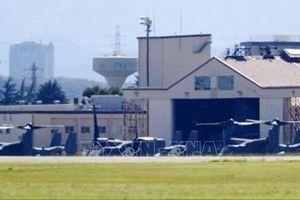 Cảnh sát Nhật Bản bắt giữ người chiếu tia lade vào máy bay quân sự Mỹ ở ngoại ô Tokyo