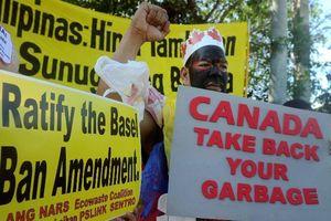 Căng thẳng quan hệ Philippines - Canada về vấn đề rác thải