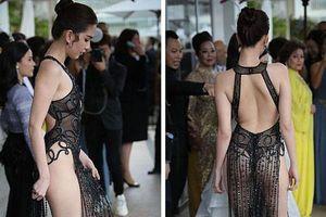 Ngọc Trinh xuất hiện trên thảm đỏ Cannes, công chúng phương Tây nhận xét gì?