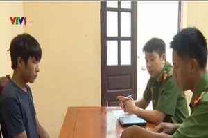 Thanh Hóa: Bắt giữ đối tượng trộm cắp xe máy tại các cơ quan