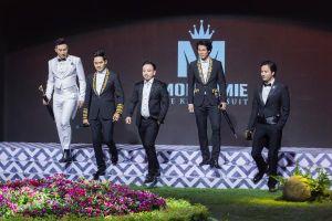 Siêu mẫu Nam Phong diện vest bảnh bao cùng dàn mỹ nam làm vedette